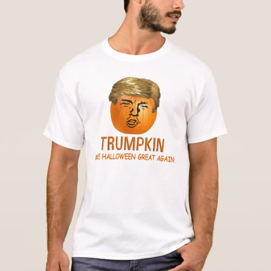 Trumpkin Make Halloween Great Again Basic T-Shirt