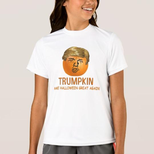 Trumpkin Make Halloween Great Again Girls' Sport-Tek Competitor T-Shirt