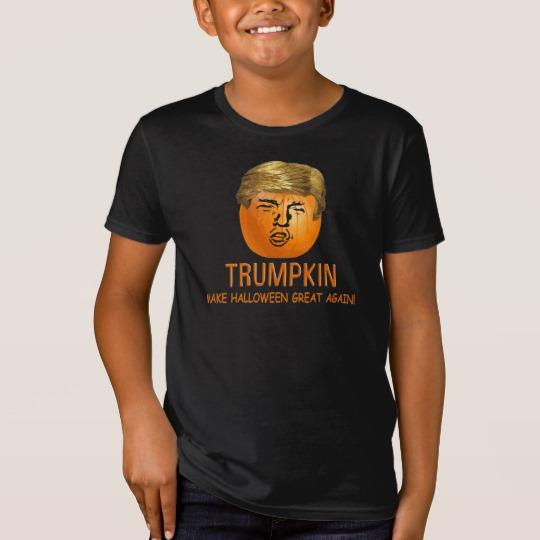 Trumpkin Make Halloween Great Again Kids' American Apparel Organic T-Shirt
