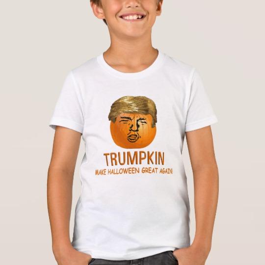 Trumpkin Make Halloween Great Again Kids' Bella+Canvas Crew T-Shirt