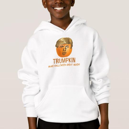 Trumpkin Make Halloween Great Again Kids' Hanes ComfortBlend® Hoodie