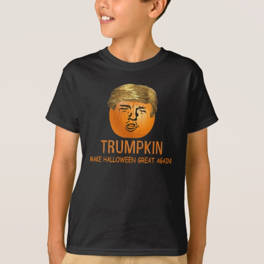 Trumpkin Make Halloween Great Again Kids' Hanes TAGLESS® T-Shirt