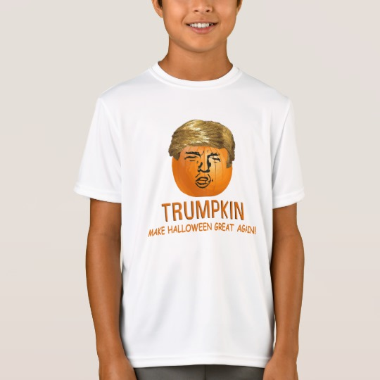 Trumpkin Make Halloween Great Again Kids' Sport-Tek Competitor T-Shirt
