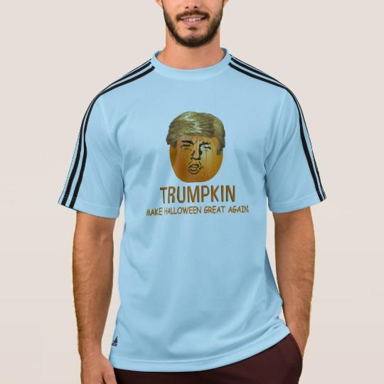 Trumpkin Make Halloween Great Again Men's Adidas ClimaLite® T-Shirt