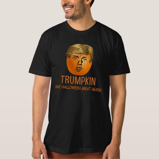Trumpkin Make Halloween Great Again Men's American Apparel Organic T-Shirt