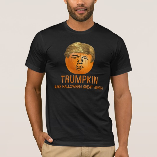 Trumpkin Make Halloween Great Again Men's Basic American Apparel T-Shirt