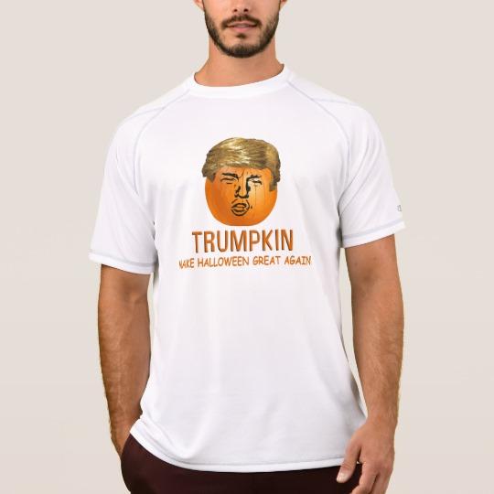 Trumpkin Make Halloween Great Again Men's Champion Double Dry Mesh T-Shirt