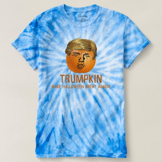 Trumpkin Make Halloween Great Again Men's Cyclone Tie-Dye T-Shirt