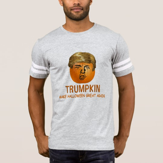 Trumpkin Make Halloween Great Again Men's Football T-Shirt