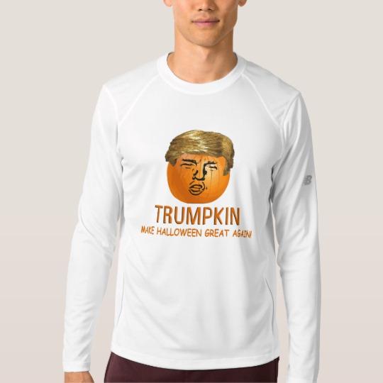 Trumpkin Make Halloween Great Again Men's New Balance Long Sleeve T-Shirt