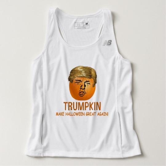 Trumpkin Make Halloween Great Again Men's New Balance Tempo Running Tank Top