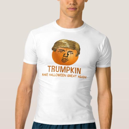 Trumpkin Make Halloween Great Again Men's Performance Compression T-Shirt