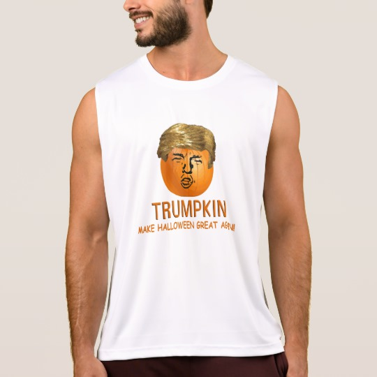 Trumpkin Make Halloween Great Again Men's Performance Tank Top