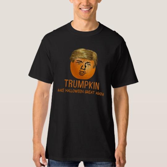 Trumpkin Make Halloween Great Again Men's Tall Hanes T-Shirt