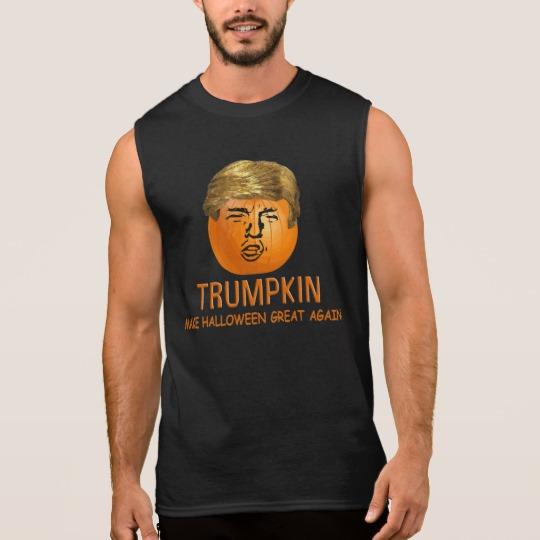 Trumpkin Make Halloween Great Again Men's Ultra Cotton Sleeveless T-Shirt