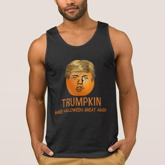 Trumpkin Make Halloween Great Again Men's Ultra Cotton Tank Top