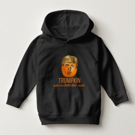 Trumpkin Make Halloween Great Again Toddler Pullover Hoodie