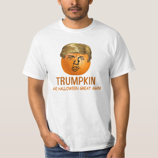 Trumpkin Make Halloween Great Again Value T-Shirt