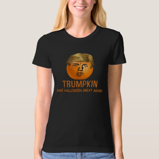 Trumpkin Make Halloween Great Again Women's American Apparel Organic T-Shirt