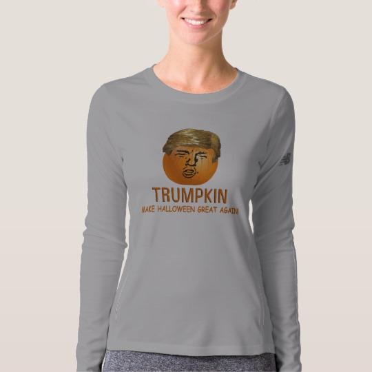 Trumpkin Make Halloween Great Again Women's New Balance Long Sleeve T-Shirt