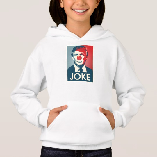 Trump Clown Joke Girls' Hanes ComfortBlend® Hoodie
