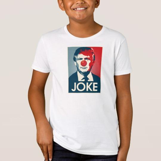 Trump Clown Joke Kids' American Apparel Organic T-Shirt