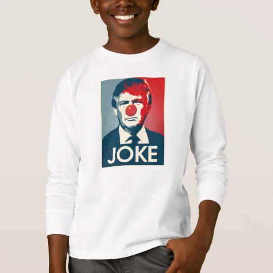 Trump Clown Joke Kids' Basic Long Sleeve T-Shirt