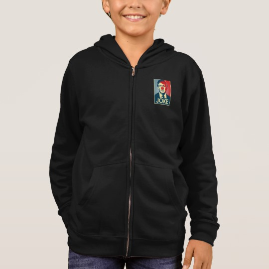 Trump Clown Joke Kids' Basic Zip Hoodie