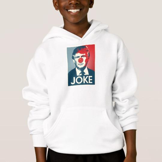 Trump Clown Joke Kids' Hanes ComfortBlend® Hoodie