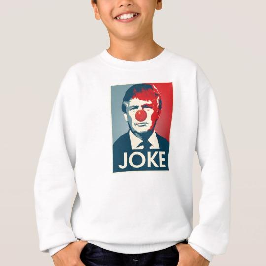 Trump Clown Joke Kids' Hanes ComfortBlend® Sweatshirt