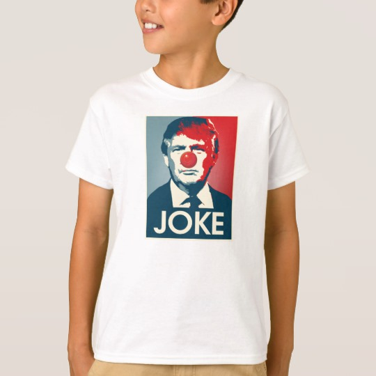 Trump Clown Joke Kids' Hanes TAGLESS® T-Shirt