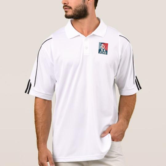 Trump Clown Joke Men's Adidas Golf ClimaLite® Polo Shirt