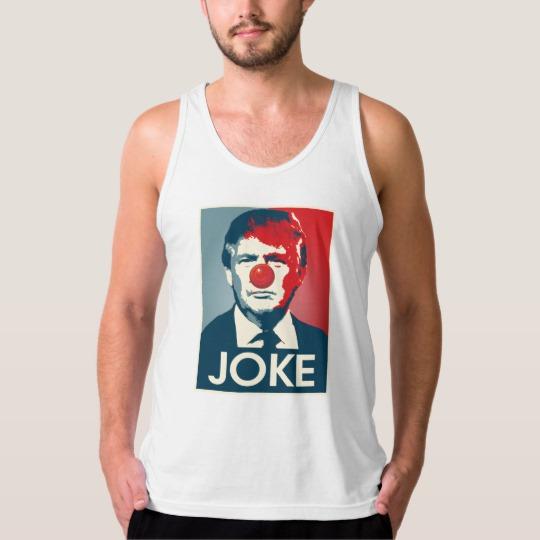 Trump Clown Joke Men's American Apparel Fine Jersey Tank Top