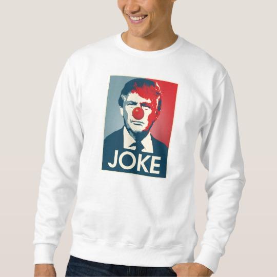 Trump Clown Joke Men's Basic Sweatshirt