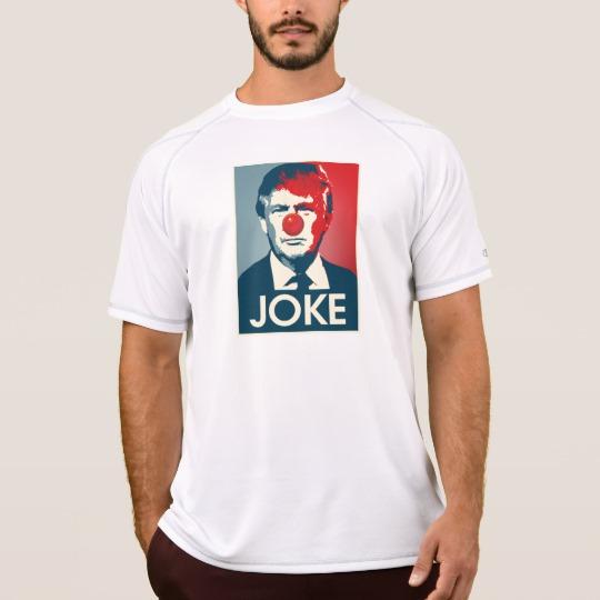 Trump Clown Joke Men's Champion Double Dry Mesh T-Shirt