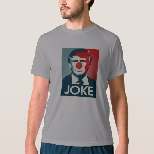 Trump Clown Joke Men's New Balance T-Shirt