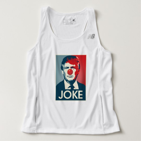 Trump Clown Joke Men's New Balance Tempo Running Tank Top