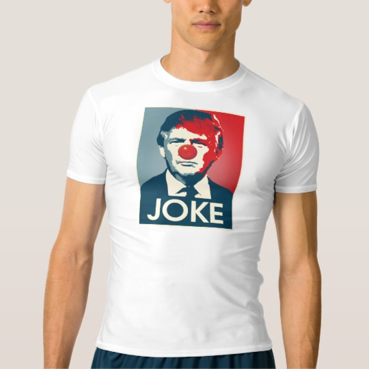 Trump Clown Joke Men's Performance Compression T-Shirt