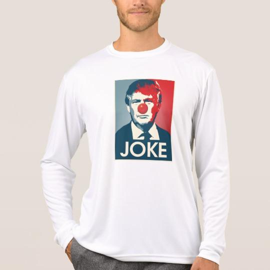 Trump Clown Joke Men's Sport-Tek Competitor Long Sleeve T-Shirt