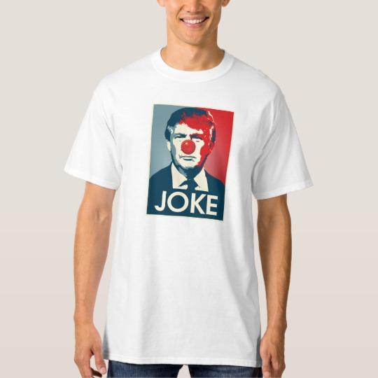 Trump Clown Joke Men's Tall Hanes T-Shirt