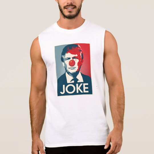 Trump Clown Joke Men's Ultra Cotton Sleeveless T-Shirt