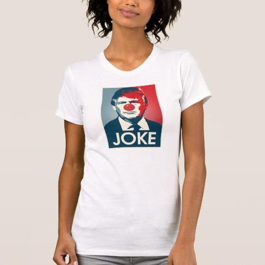Trump Clown Joke Women's Basic T-Shirt