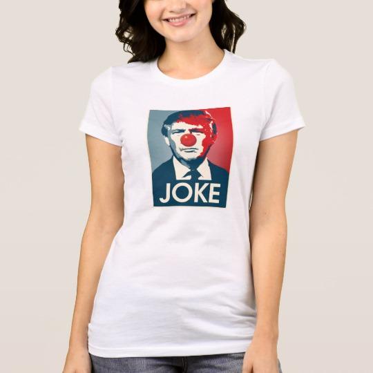 Trump Clown Joke Women's Bella+Canvas Favorite Jersey T-Shirt