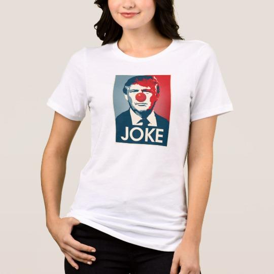 Trump Clown Joke Women's Bella+Canvas Relaxed Fit Jersey T-Shirt
