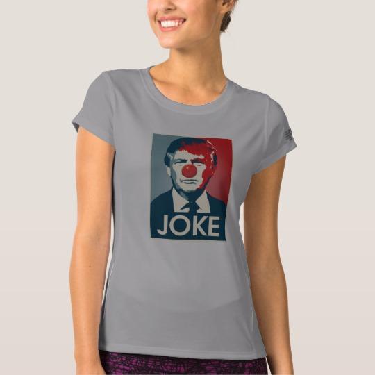 Trump Clown Joke Women's New Balance T-Shirt