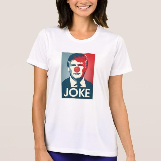 Trump Clown Joke Women's Sport-Tek Competitor T-Shirt