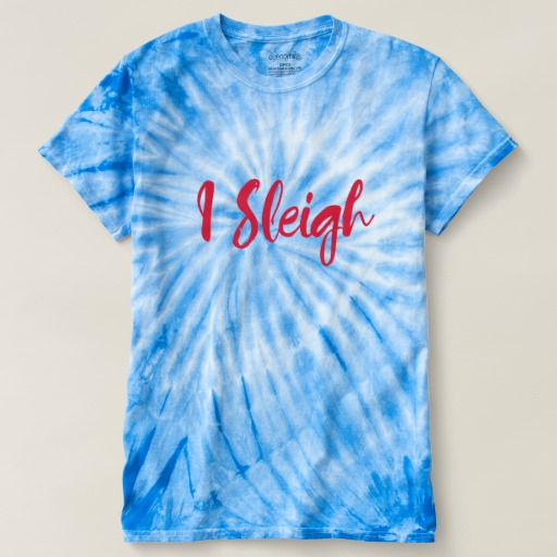 I Sleigh Men's Cyclone Tie-Dye T-Shirt