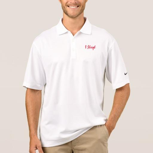 I Sleigh Men's Nike Dri-FIT Pique Polo Shirt