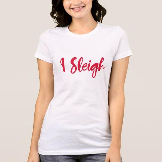 I Sleigh Women's Bella+Canvas Favorite Jersey T-Shirt