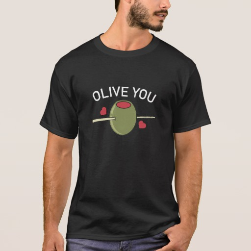 Olive You Basic Dark T-Shirt